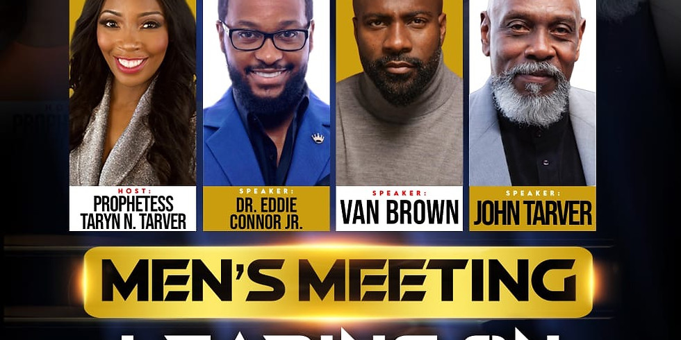Men's Meeting: Leading on a New Level