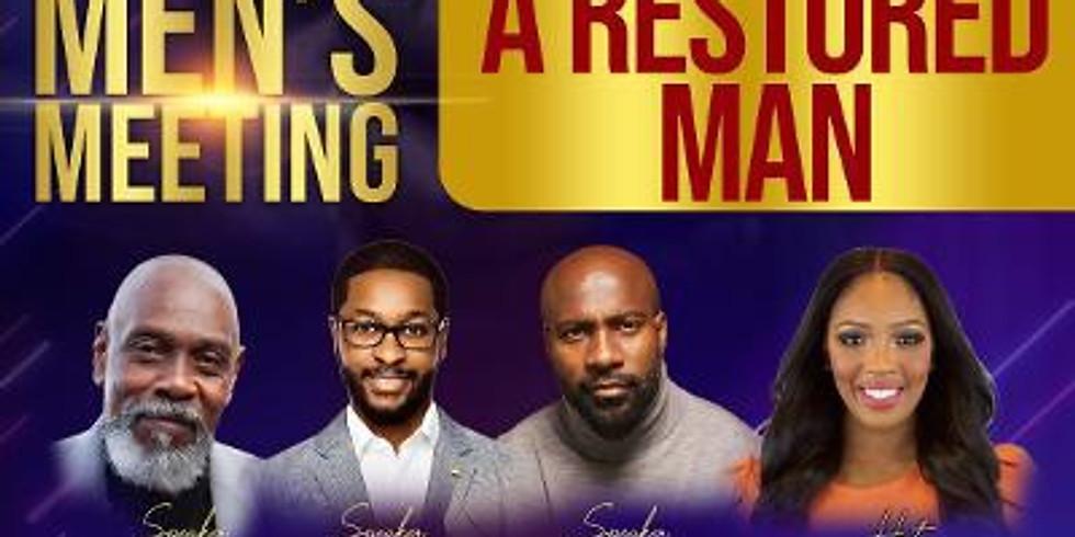 Men's Meeting: A Restored Man
