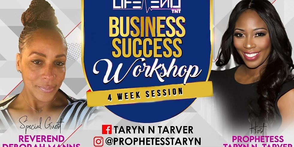 June Business Workshop Sessions W/ Reverend Manns