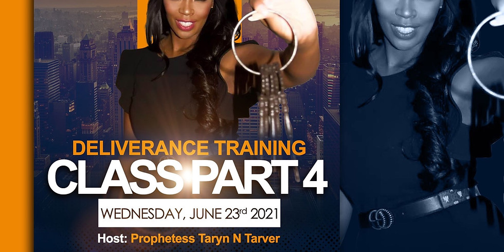 Special Edition Leadership & Deliverance Training Class