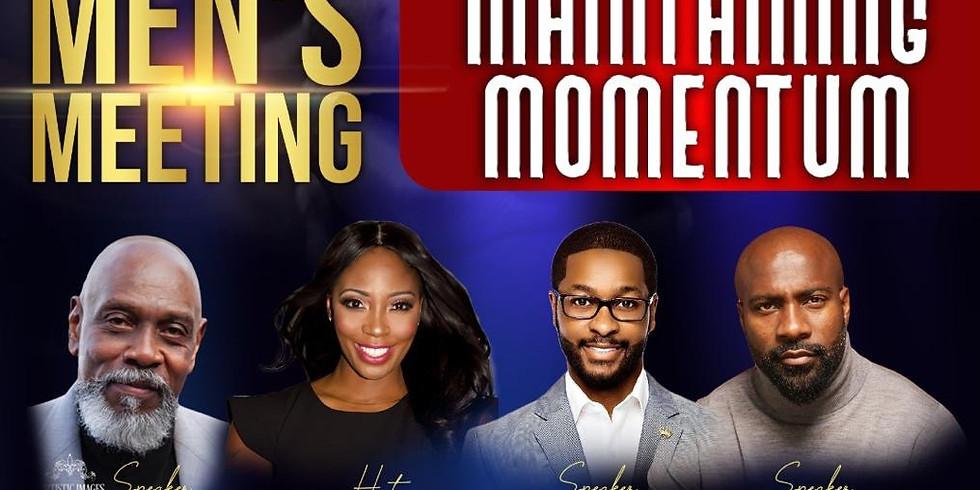 Men's Meeting: Maintaining Momentum