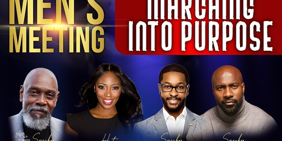 Men's Meeting: Marching into Purpose