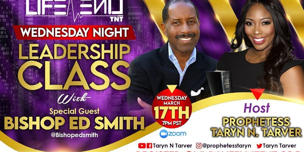 Leadership Class with Special Guest Bishop Ed Smith
