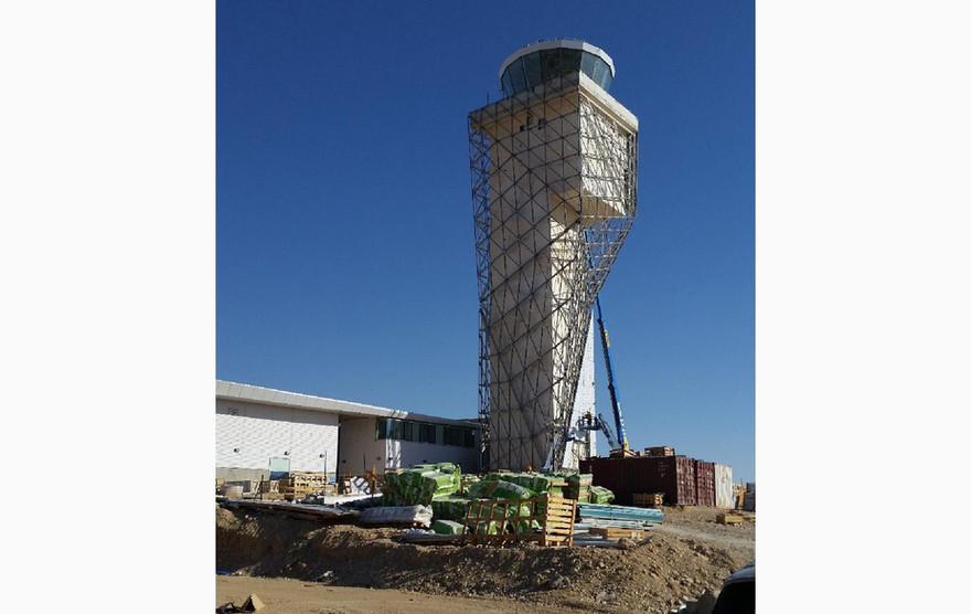 מגדל פיקוח שדה התעופה רמון