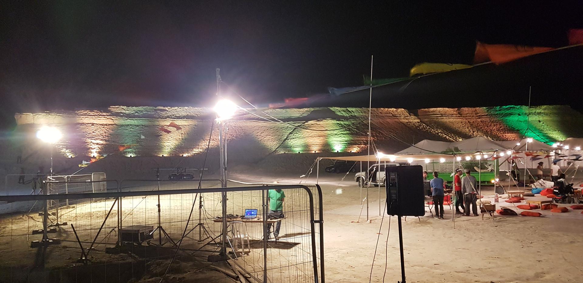 אירוע  בים המלח
