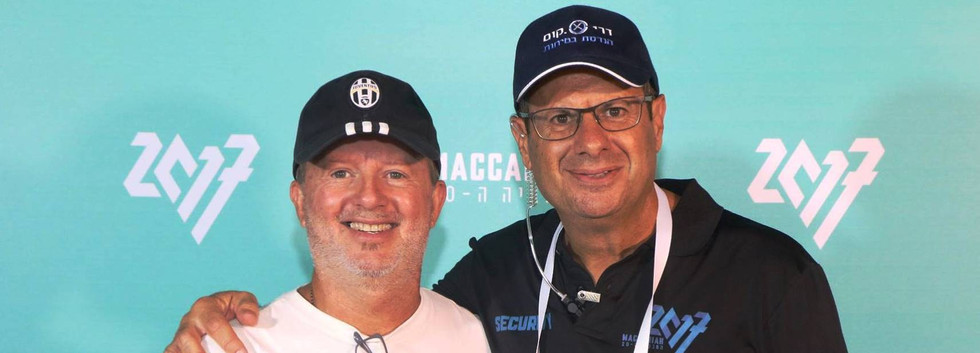 עם אבי דריקס מכבייה 2017