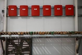 ממירים למערכת P.V על גבי הגג במפעל בשר - ולדמן