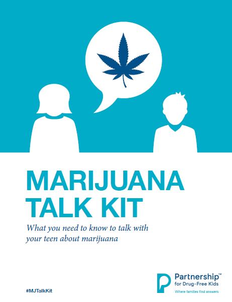 Partnership for Drug-Free Kids Marijuana Talk Kit