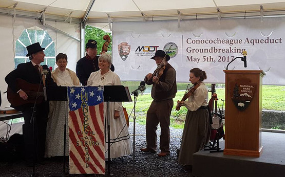 Hancock Civil War String Band
