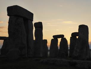 Sunrise Inside Stonehenge