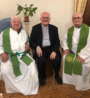 60 anni di Sacerdozio di don Rino Lotto e don Gian Carlo Abetini: omelia di mons. Perego