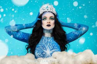 Photographer: Willyum Baulkey  Model: Alexandra Rudig  Makeup/Body Paint: Rachel Madison