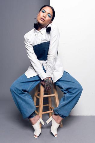 Photographer: Steve Brokaw Model: Ayanna  Hair: Amber McCoy Stylist: Jazmine  Makeup: Rachel Madison