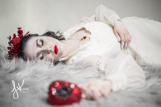 Photographer: Linda Her Vang Model: Gina Valentine  Makeup: Rachel Madison