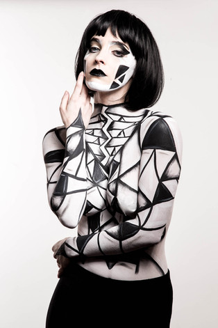 Photographer: David Van Deman  Model: Brittany Smith  Makeup/Body Paint: Rachel Madison