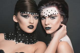Photographer: Jennifer Sheets Models: Dakota Bruton, Rachel Madison  Makeup: Rachel Madison