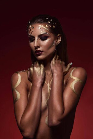 Photographer: Chris Whonsetler Model: Skyler Makeup/Hair/Body Paint: Rachel Madison