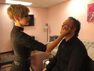 BTS Makeup Critical Role Taliesin Jaffe