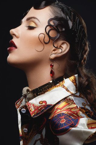 Photographer: Dauss Miller Model: Margarita Karizskaja Hair: Megan Grimm Makeup: Rachel Madison
