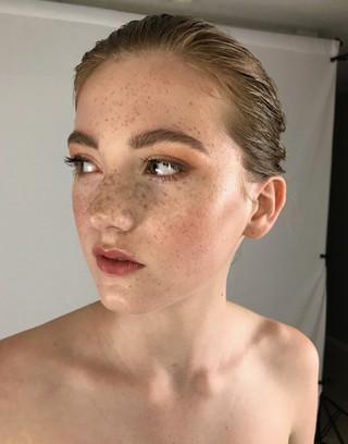 Model: Gracie Thompson Makeup: Rachel Madison