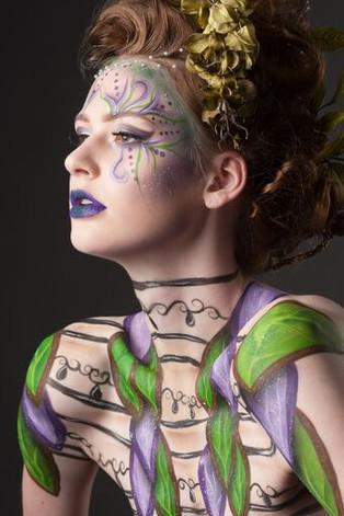 Photographer: Eric Dawson Model: Lauren Crosier Hair: Cassandra Radford Makeup/Body Paint: Rachel Madison