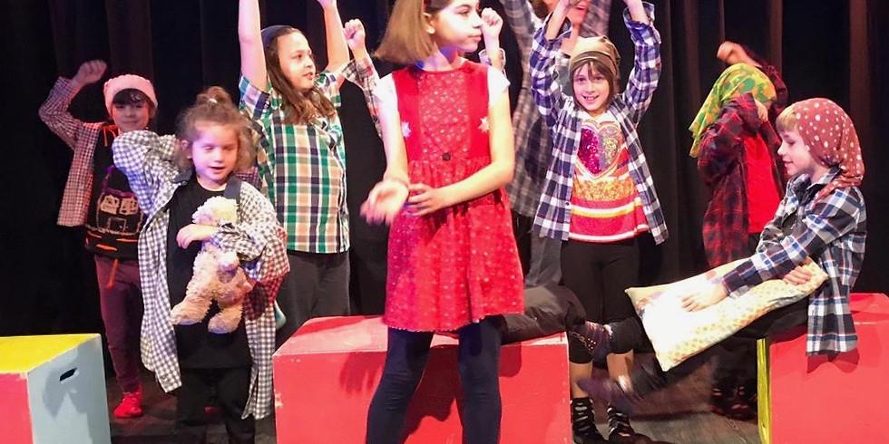 Corso teatro BAMBINI (6-11 anni) Lunedì
