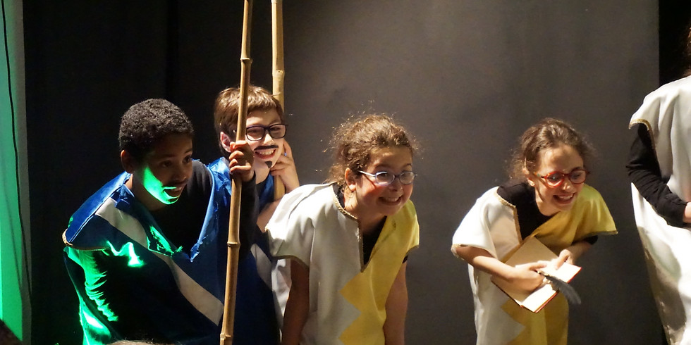 Corso teatro BAMBINI - Livello base (5-8 anni - Venerdì)