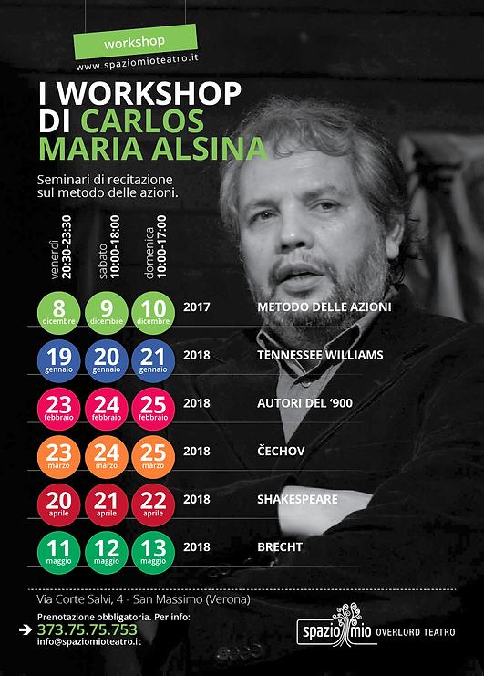 Carlos workshop metodo delle azioni 2017