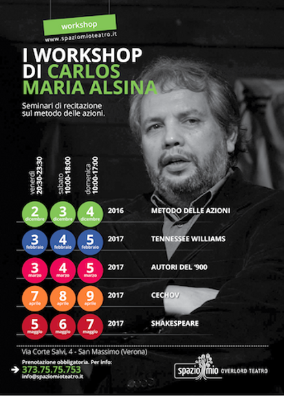 Carlos workshop metodo delle azioni 2016