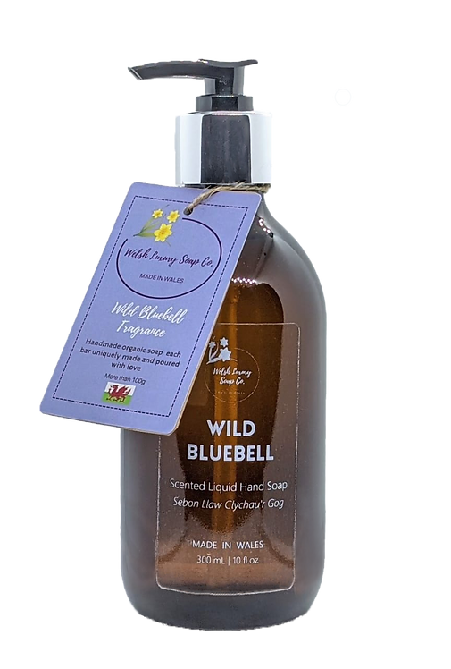Organic Wild Bluebell liquid hand & body wash   300 mL