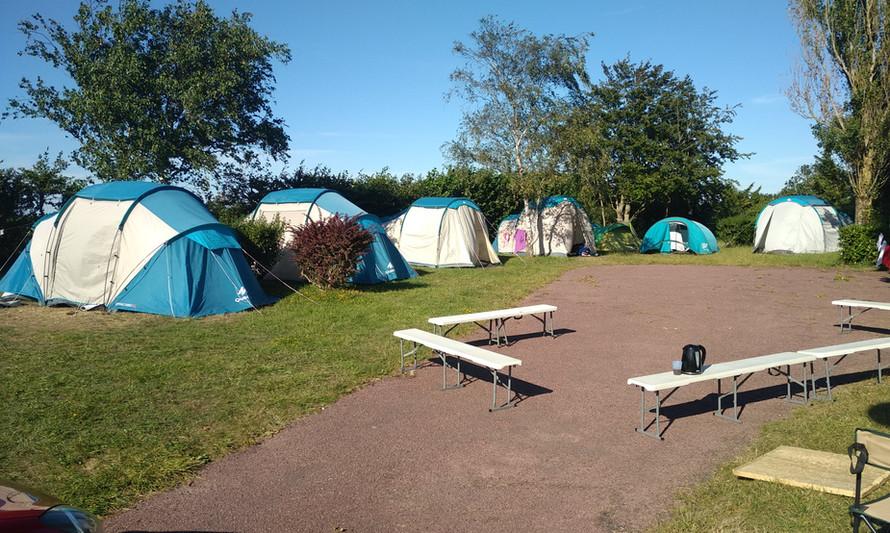 Emplacement de tentes