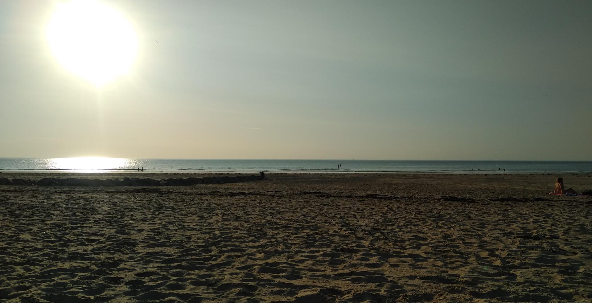 Soleil en Normandie
