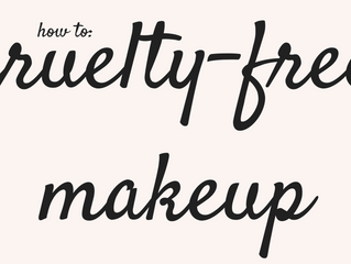 How to: Everyday Cruelty-Free Makeup