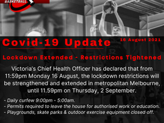 Lockdown extended - Restrictions Tightened