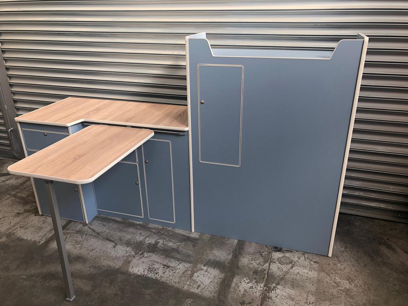 SWB with fridge door