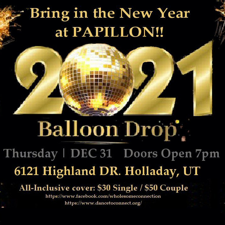 Bring in the New Year at PAPILLON