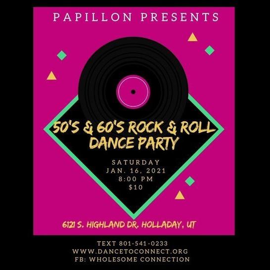 50's & 60's Rock & Roll Dance Party