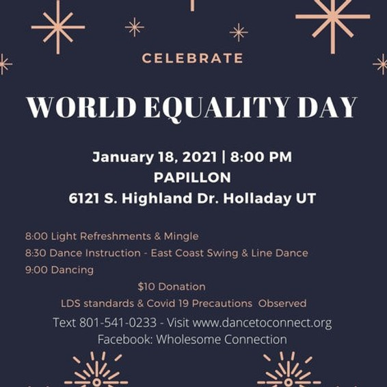 Celebrate! World Equality Day!