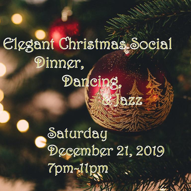 Dinner & Jazz Elegant Christmas Social