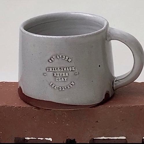 Short Glazed mug- Chilliwack River Clay