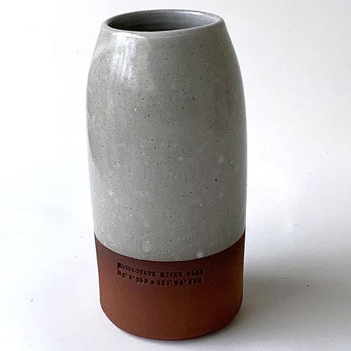Chilliwack River Clay- Glazed Vase