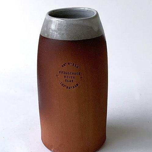 Cylinder Vase (Natural) - Chilliwack River Clay
