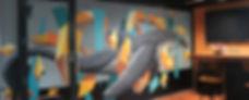Kayapa Creative Studio. M-Lon. Atomic 212º. Design Agency. Creative Agency. Sydney. Walsh Bay. Art. Mural