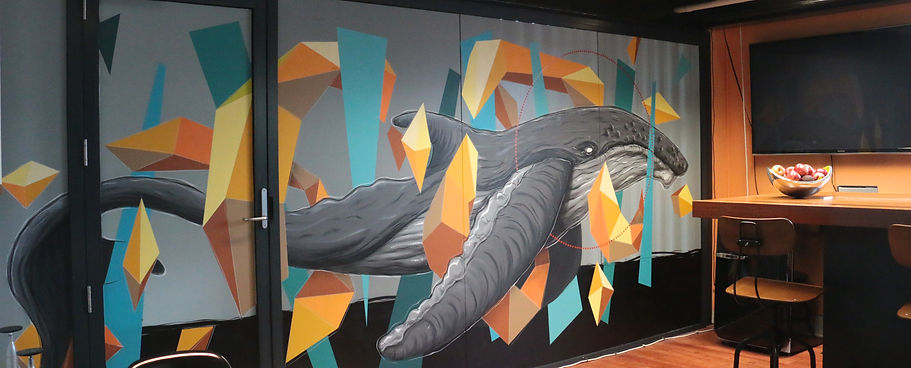 Kayapa Creative Studio. M-Lon. Atomic 212º. Design Agency. Creative Agency. Sydney. Walsh Bay. Art. Mural