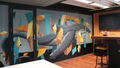 Atomic 212º | Mural & Conference Table