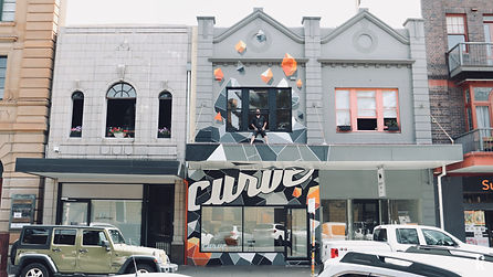 Curve Gallery.Mural. Newcastle