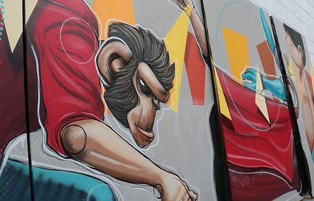 Kayapa Creative Studio. Mona Vale Skate Park. Street Art. Instalation. rt. Mural. M-Lon. Northern Beahes. Sydney