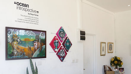 Kayapa Creative Studio. Girdlers. Exhibitions. Walls. Dee Why Beach Front. Northern Beaches. Sydney. Art. Cafe. Restaurant. Locals. Dee Why. Goya Torres