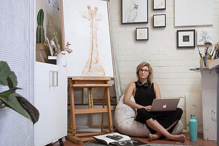 Jaimee Paul. Art for purpose. Watercolor. Animals. Artist. Sydney Road Gallery