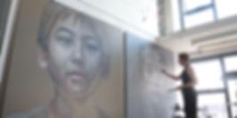 Kayapa Creative Studio. Kathrin Longhurst. Sydney. Figurative Art. Northern Beaches. Brookvale. Artist. Sydney. Portraits. Video. Inspiration.